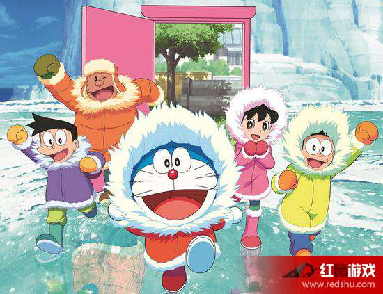 哆啦A梦 大雄的南极冰天雪地大冒险剧情介绍 哆啦A梦 大雄的南极冰天图片