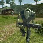 丛林之战-射杀机器人