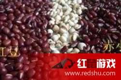 赤小豆和红豆的区别,形状口感都不同!