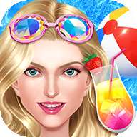 夏季泳池派对 - 热辣少女假日装扮!
