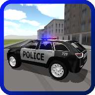 4WD SUV Police Car Driving