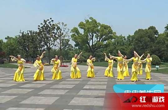 2017最新广场舞《丝路花雨》高清视频在线观看 《丝路花雨》广场舞分解教学