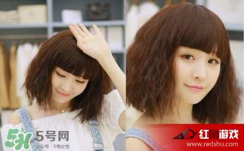 长发玉米烫发型图片 玉米烫发型图片短发图片