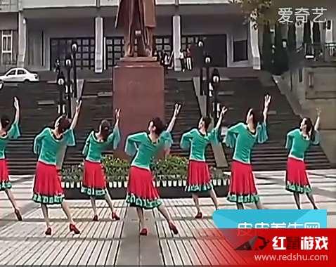 青庆广场舞《西班牙玫瑰》原创舞蹈视频在线观看 西班牙玫瑰分解教学在线一览
