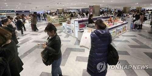 韩媒称韩国免税店5月销售额反弹:重现中国顾客