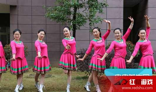 杨丽萍广场舞《你是我拒绝别人的理由》在线观看 原创舞蹈你是我拒绝别人的理由教学