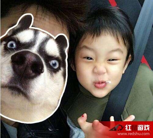 贾乃亮离京拍戏想女儿 发甜馨搞怪照片自嗨