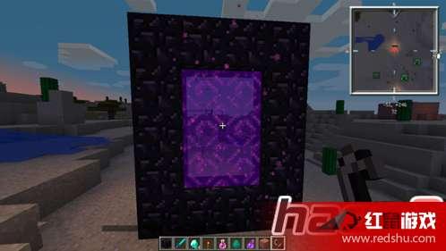 我的世界地狱门怎么做 我的世界地狱门制作技巧方法图片