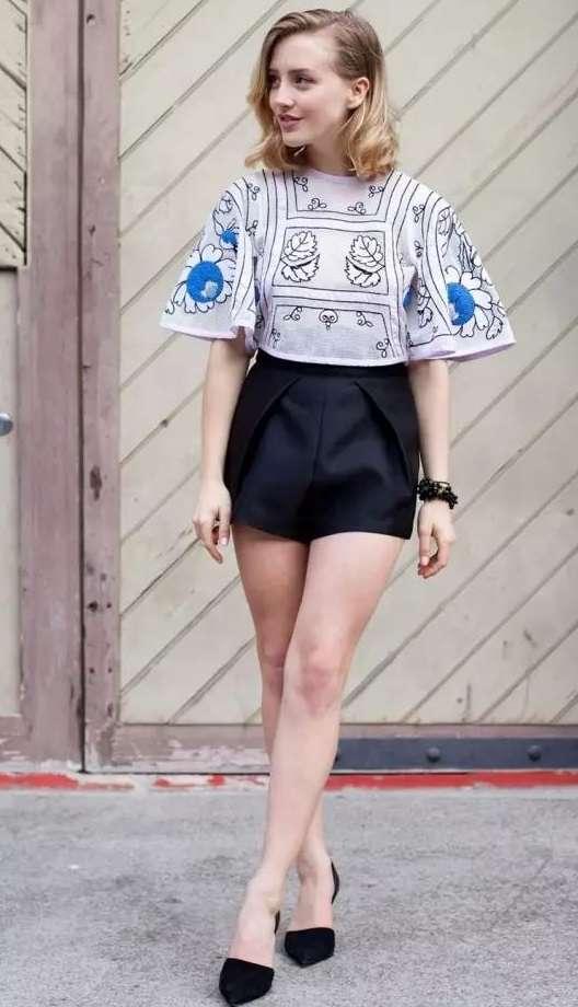 选择最美短裤,穿出夏日长腿