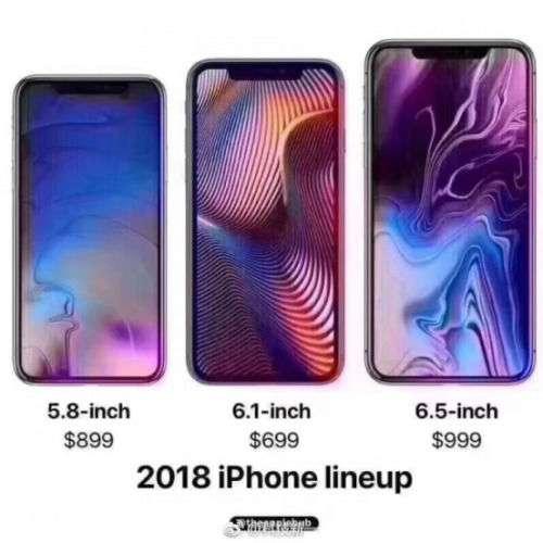 新iPhone曝光 命名iphoneXs 9月12日发布