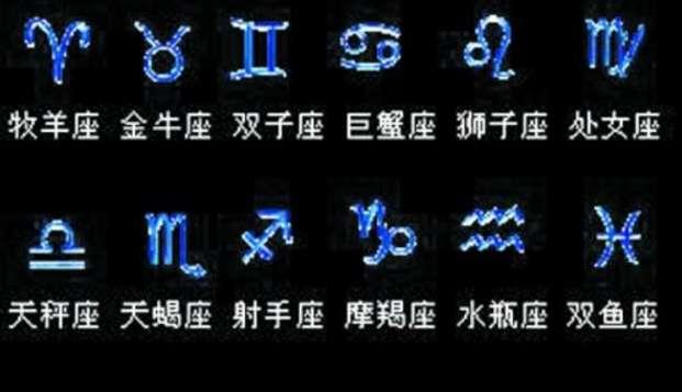 这12个黄道星座的象征符号,你都认识吗?