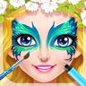公主脸部彩绘沙龙